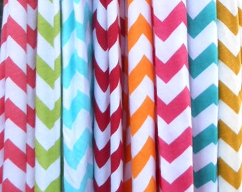 HUGE Selection...Chevron Print  Infinity Scarf  Jersey Knit  Red & White, Gift Ideas