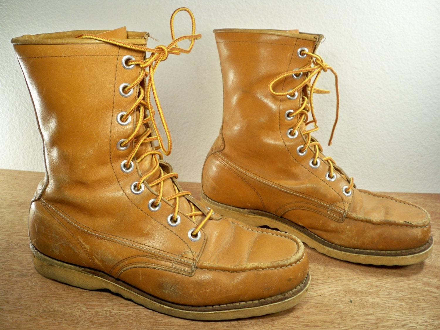 vintage knapp brown leather s chukka by joeymest