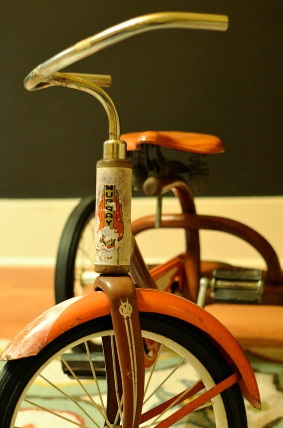 Italian Gold Chain >> Vintage Tricycle Murray's 1950 Chain Driven by threebrevival