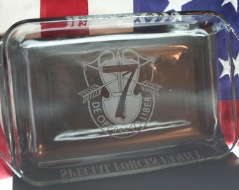 7th Special Forces Group - Personalized Baking Dish -