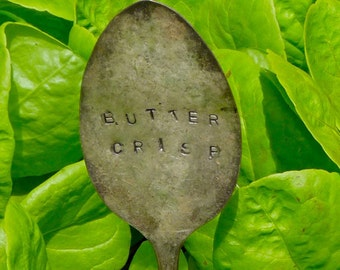 Buttercrisp-Vintage Silverware Garden Marker