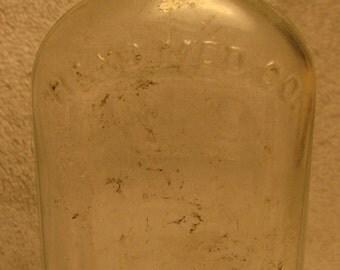 Vintage Medicine Bottle HAND MED CO of Philadelphia  1920s