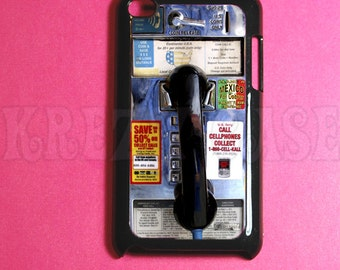 Ipod Touch 4 Case -Public Call Booth Ipod 4G Touch Case, 4th Gen Ipod Touch Cases