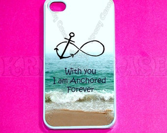 iPhone 6/6s Case, iphone 4 Case, iPhone 4s case -Forever Anchored, Infinity   iPhone SE Cases, Iphone 4s Cover,Case For iPhone SE