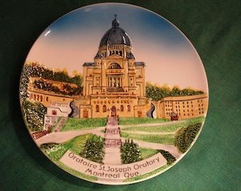 Vintage Plate Oratoire St.Joseph Montreal Quebec Oratory