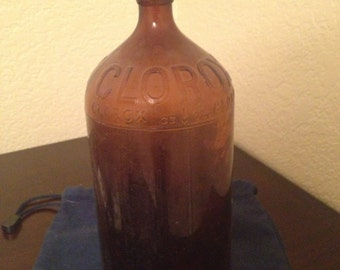 Antique Clorox Bottle