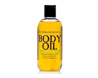 Body Oil: Lemon Lime