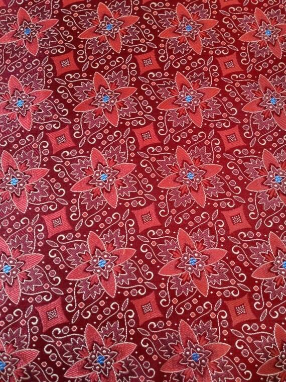 Items similar to Vintade Tie Silk Tie Fabric (#4B) 1/2 ...