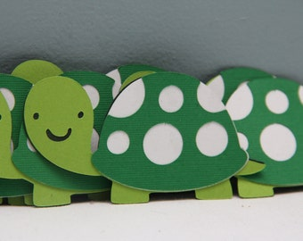 Cricut Die Cut Turtles-Set of 8
