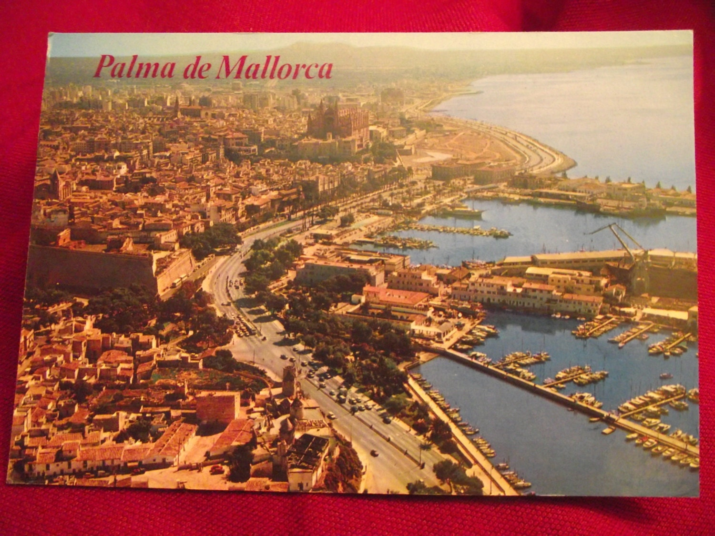 Palma de Mallorca Postcard Vintage Postcard 1980s -> Vintage Möbel Palma De Mallorca
