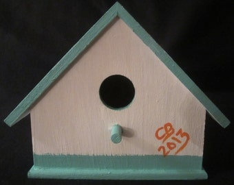 Miami Dolphins Birdhouse with Shazaam