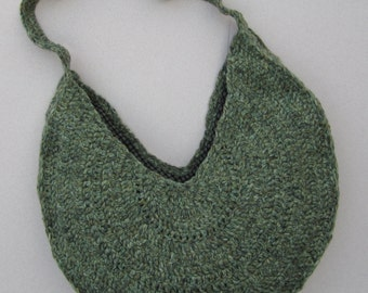 Large crocheted bag; FREE SHIPPING