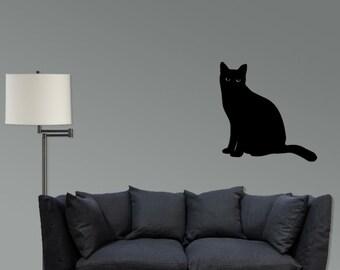Black Cat Vinyl Decal