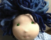 Made to order CUSTOM 12 inch Waldorf style doll. Boy or girl. Invite natural, creative play.