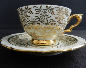 KAHLA Mocha cup gold decor from the 60s