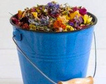 WILDFLOWERS, WEDDING CONFETTI, Biodegradable confetti, flower confetti, WildflowerFetti™, dried flowers, larkspur, for fairy tale endings