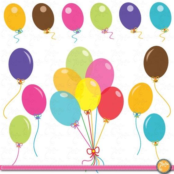 free clip art balloons celebration - photo #49