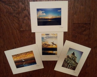 Matted Photography Prints