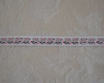 3/8 Bunny grosgrain ribbon 5yds