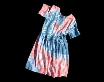 Girls Tie-Dye Dress- Size 8