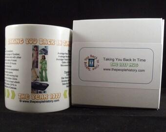 1977 Taking You Back In Time Coffee Mug