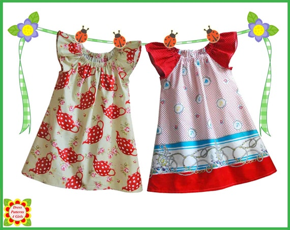 Cecilia Sewing Pattern For Children Free Mother Daughter Etsy