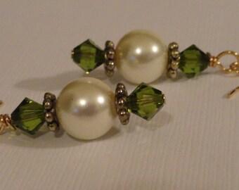 Crystal Earrings - Ethereal Elegance