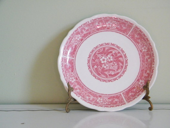 Vintage Syracuse China Strawberry Hill Pattern Luncheon