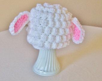 Kid's Easter Lamb Hat - Toddler, Child - Farm, Animal, Barnyard, Sheep