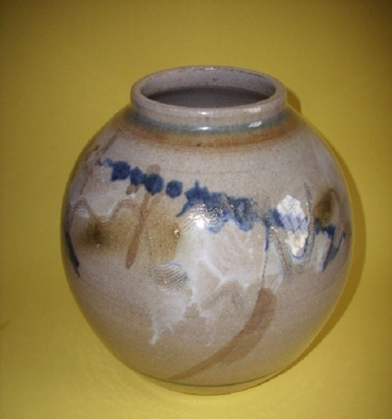 Handmade Pottery Jar / Vase