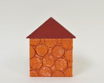 Wax House 14 - encaustic painting
