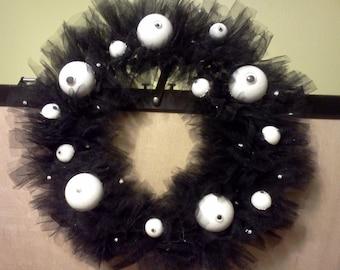 Holloween Eyeball wreath