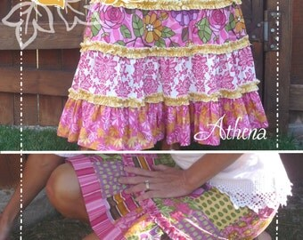 The Athena/Calista Skirt Pattern (for women and teens sizes 2-18)