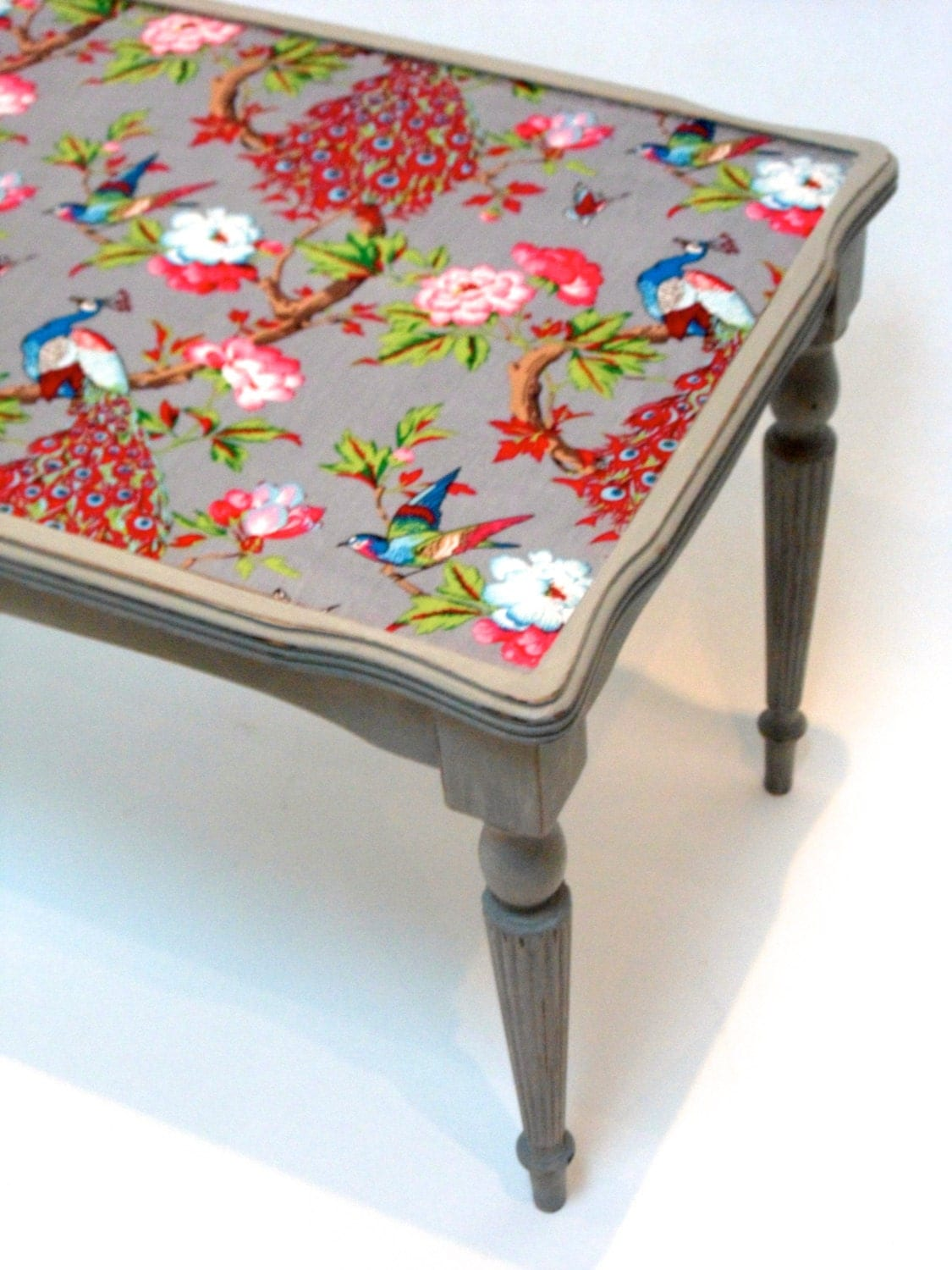 Victorian meets the Orient Shabby Chic Upcycled Coffee Table