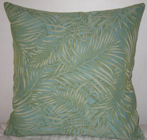 Decorative Pillow Palm Tree : Palm tree leaf decorative pillow cover-24x24 by pillowdesigner
