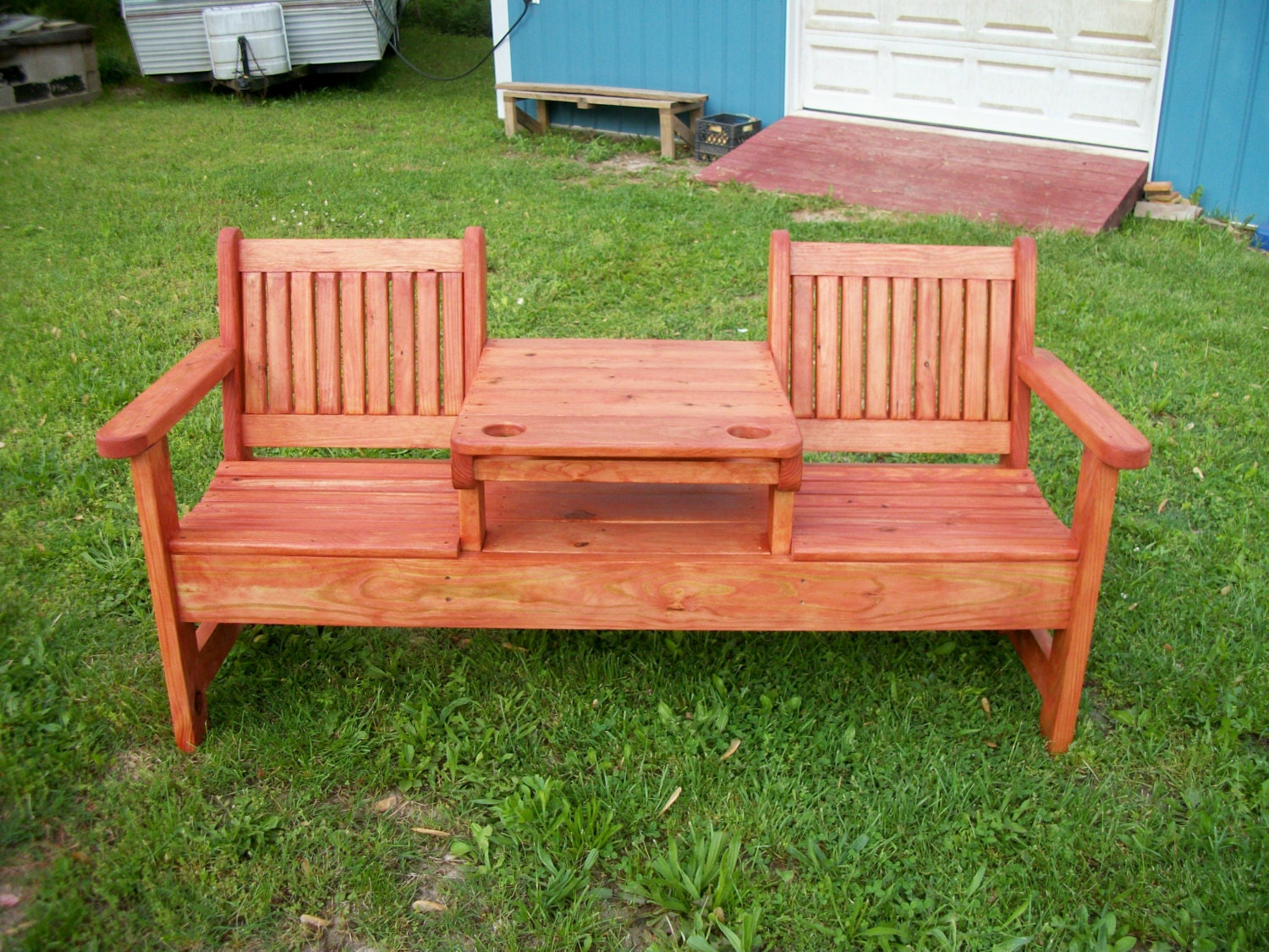 patio bench ideas