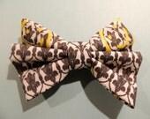 Sherlock BBC Inspired- Bored Hair Bow