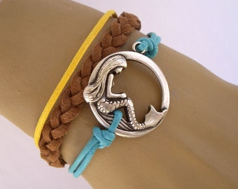 Mermaid bracelet,oceanC32.