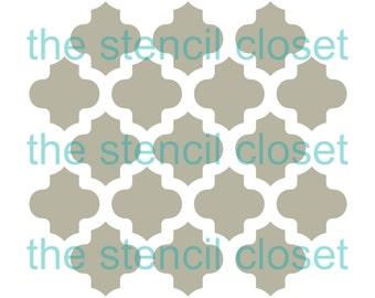 6x6 Moroccan stencil