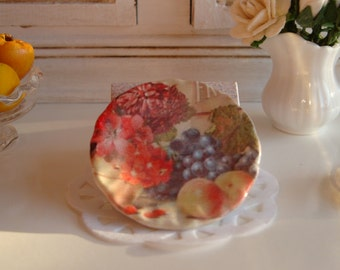 Vintage Fruit  Plate for Dollhouse
