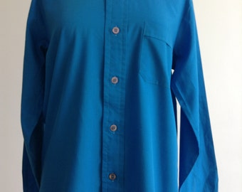 Men's Blue Vintage Shirt