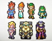 Chrono Trigger Magnet Set Perler Bead Super Nintendo