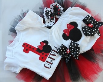 Minnie Birthday Outfit