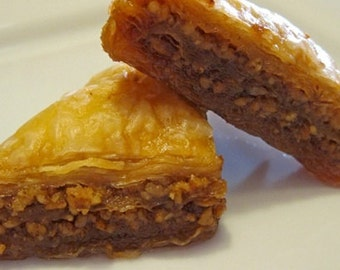 Baklava, New York Baklava, Greek pastry, Valentine Day