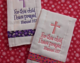 Scripture Burp Cloth