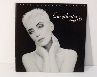 Eurythmics Angel CD Single 1989 Vintage Annie Lennox Photo Cover We Two Are One Compact Disc Dave Stewart Arista 1980s Mohawk Music