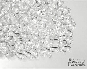 10 g Crystal Czech RIZO Beads 6x2,5 mm (7181)
