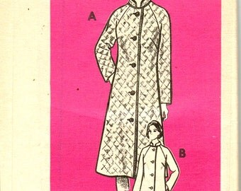 VIntage Sewing Pattern Mail Order 9245 UNcut 1970,s  Womens Jacket or Coat