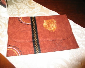 SALE!  Unique Quilted and Embroidered IPad, MacBook Air Portfolio Cover