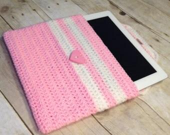 Crochet tablet cozy READY TO SHIP